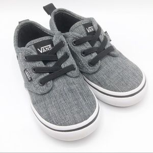 Vans Atwood toddler laceless sneakers